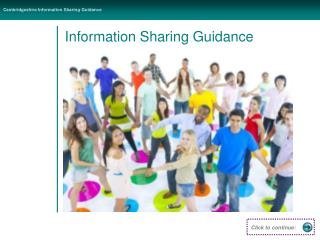 Information Sharing Guidance