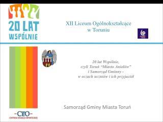 XII Liceum  O gólnokształcące w Toruniu
