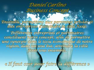 Daniel Carlino Business Concept