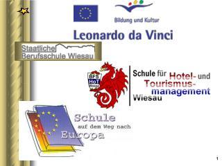 Möglichkeiten  im Rahmen von Leonardo
