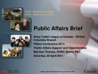 Public Affairs Brief