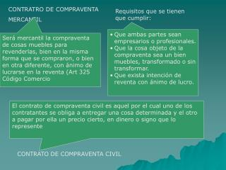 CONTRATRO DE COMPRAVENTA MERCANTIL