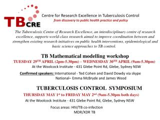 TB Mathematical modelling workshop