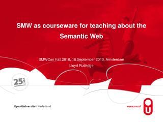 SWM @ OU