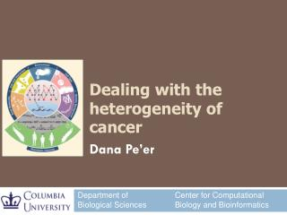 Dealing with the heterogeneity of cancer