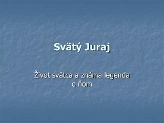 Svätý Juraj