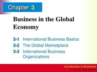 Business in the Global Economy