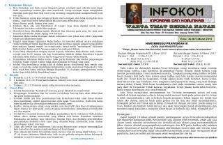 Edisi :  XLVII/  3  Maret  2013
