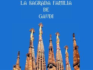Antoni Gaudi 1852 – 1926 Architecte et designer, Antoni Gaudi est né à Reus, en Catalogne.