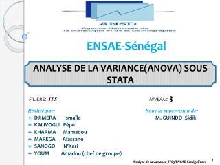 ENSAE-Sénégal