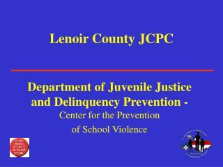 Lenoir County JCPC