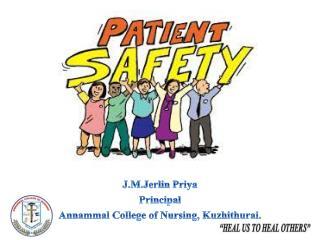 J.M.Jerlin Priya Principal Annammal  College of Nursing, Kuzhithurai.