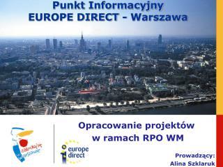 Punkt Informacyjny  EUROPE DIRECT - Warszawa