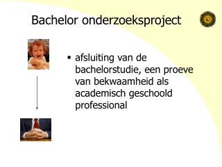 Bachelor onderzoeksproject
