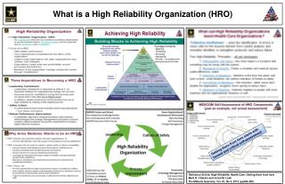 What is a  High Reliability Organization (HRO )