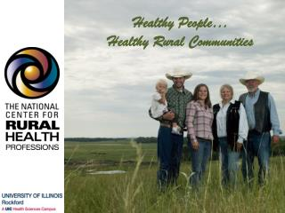 Healthy People… Healthy Rural Communities
