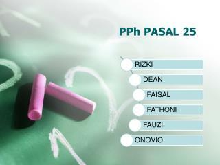 PPh PASAL 25