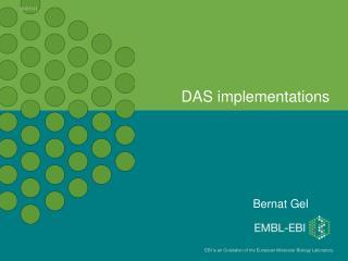 DAS implementations