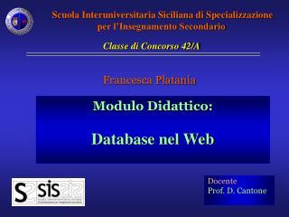 Francesca Platania