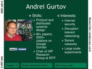 Andrei Gurtov