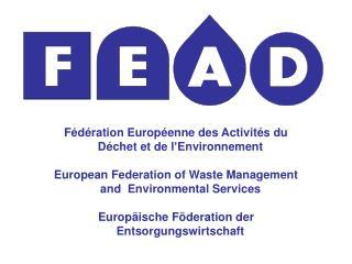 Fédération Européenne des Activités du Déchet et de l'Environnement