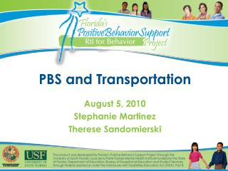 PBS and Transportation