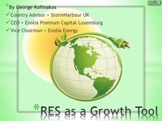RES as a Growth Tool