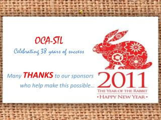 OCA-STL Celebrating 38 years of success