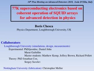 What is Spectroscopy By D. Kemp