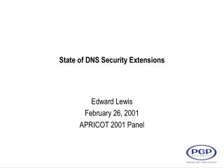 State of DNS Security Extensions