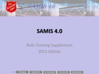 SAMIS 4.0