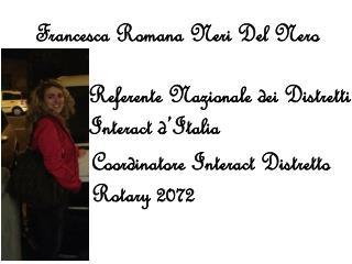 Francesca Romana Neri Del Nero