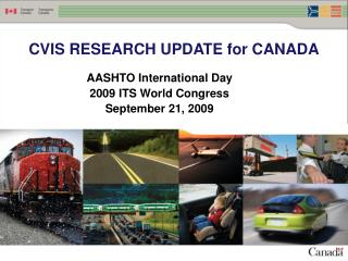 CVIS RESEARCH UPDATE for CANADA