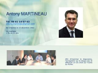Antony MARTINEAU