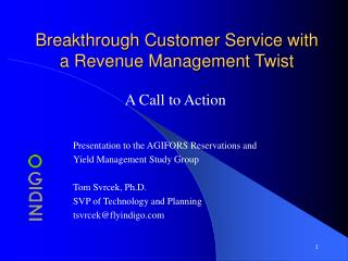 Breakthrough Customer Service with a Revenue Management Twist