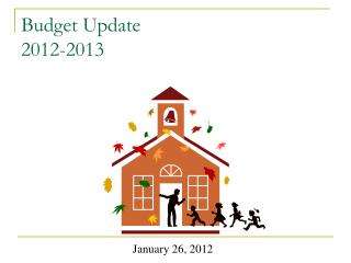 Budget Update 2012-2013