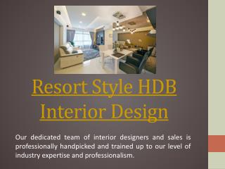 Rest Relax Interior Design Singapore