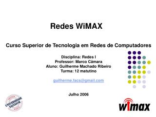 Redes WiMAX