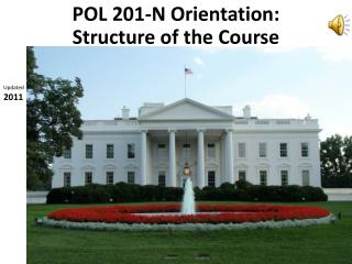POL 201-N Orientation:  Structure of  the Course