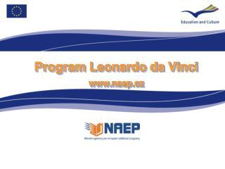 Program Leonardo da Vinci naep.cz