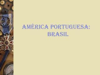 AMÉRICA PORTUGUESA: BRASIL