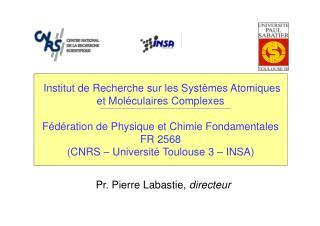 Pr. Pierre Labastie,  directeur