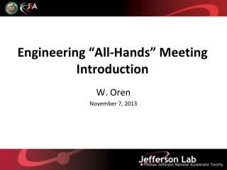 "Engineering ""All-Hands"" Meeting  Introduction"
