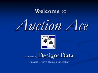 Welcome to Auction Ace