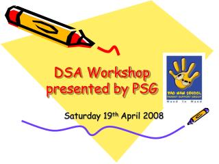 DSA Workshop presented by PSG