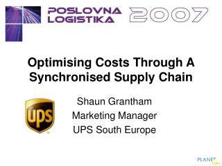 Optimising Costs Through A Synchronised Supply Chain