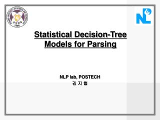 Statistical Decision-Tree Models for Parsing