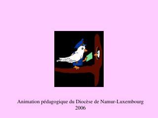 Animation pédagogique du Diocèse de Namur-Luxembourg 2006