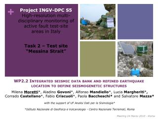 "Task 2 – Test site ""Messina Strait"""