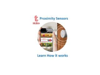 Proximity Marketing Solutions - Tickto
